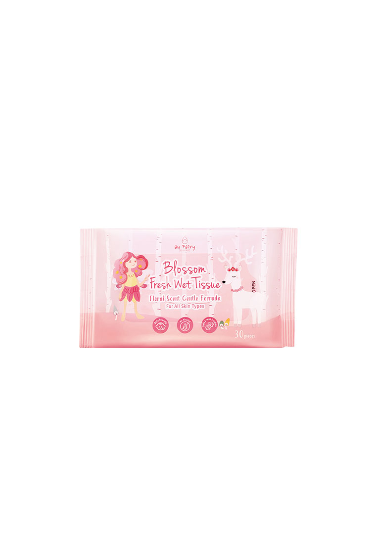 Au Fairy Blossom Fresh Wet Tissue 30s [#Floral Scent]