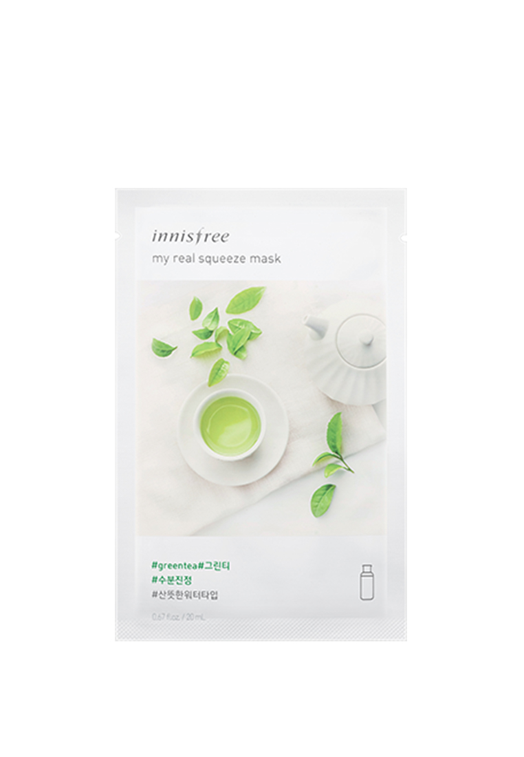Innisfree My Real Squeeze Mask 20ml 1pc [#Green Tea]