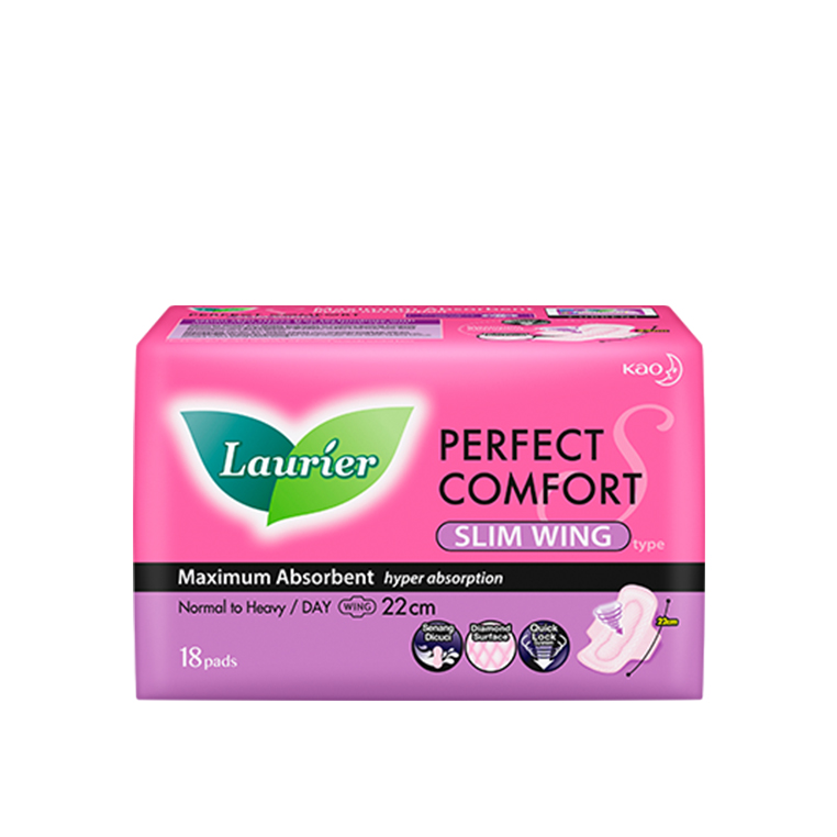 Laurier Perfect Comfort Ultra Slim Wing 22cm 18s