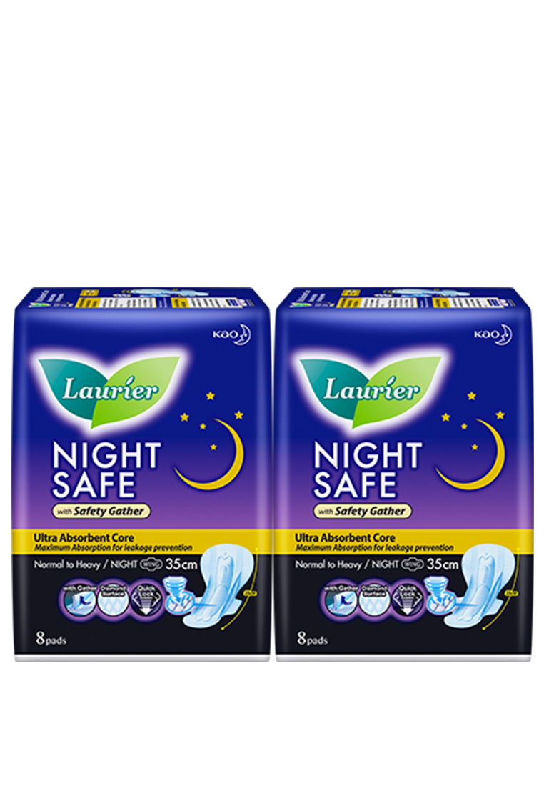 [Twin Pack] Laurier Nightsafe Wing 35cm 8s